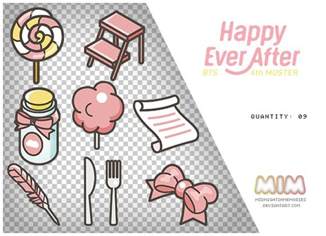 BTS 4th Muster Happy Ever After PNGS by ...