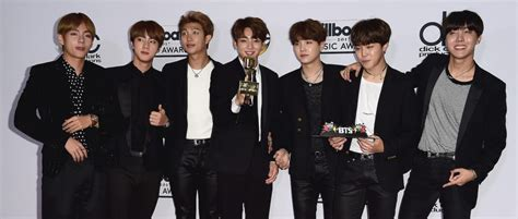 BTS are the first KPop band to win a Billboard Music Award ...