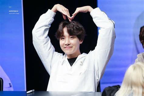 BTS J Hope Jung Hoseok Puma Fansign April 8, 2018 ...