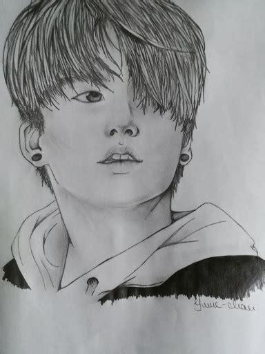 BTS Jeon Jungkook drawing by Yume-Sankarea on DeviantArt