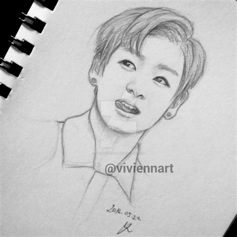 BTS: Jungkook drawing by vivienn-art on DeviantArt