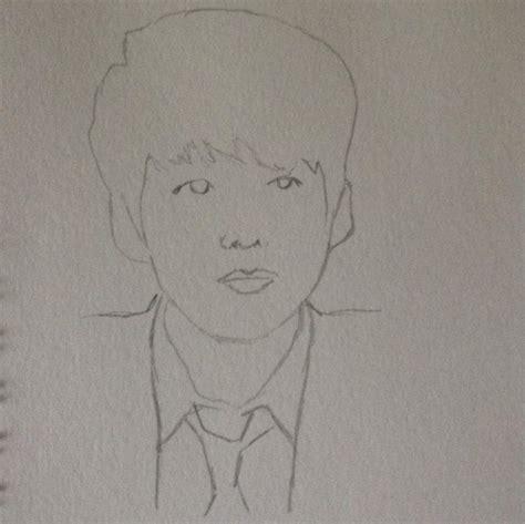 BTS Jungkook drawing ???? | K-Pop Amino