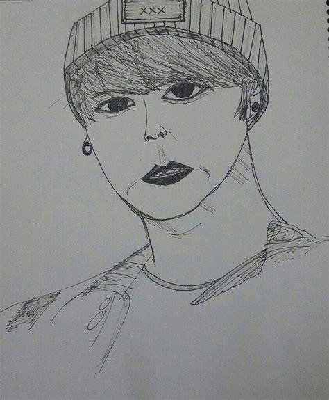 BTS's Jungkook Drawing | K-Pop Amino