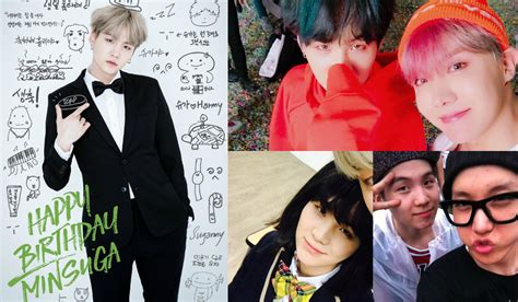 BTS Shows Their Love For Suga On His Birthday   Soompi