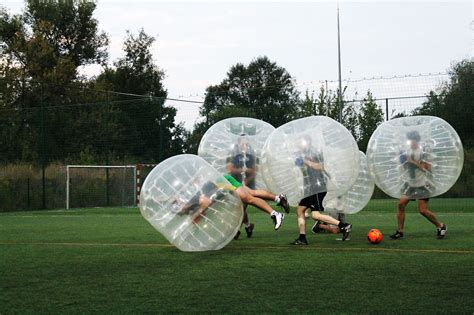 BUBBLE FOOTBALL IN WARSAW • XperiencePoland.com • BOOK NOW!