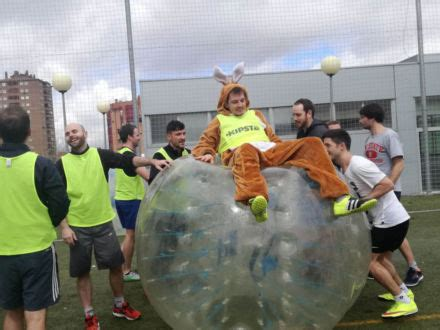 Bubble Football Stag Do in Madrid