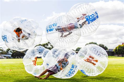 Bubble Soccer arrives in India