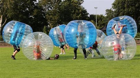 Bubble Soccer!   Bacon Free Library