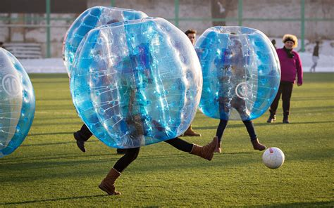 Bubble Soccer   Friday Funnies for Jan. 17 2014   ESPN