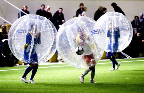 Bubble Soccer – Soccer Politics / The Politics of Football