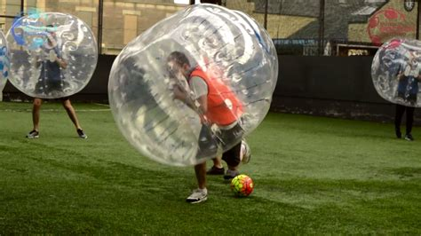 Bubble Soccer Scotland   Our Bubble Games
