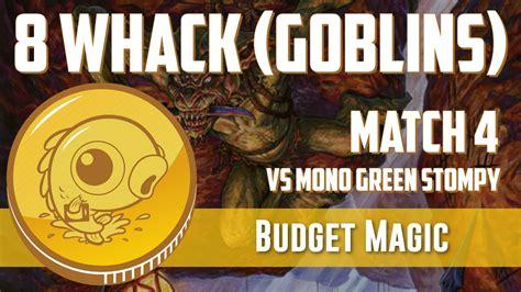 Budget Magic: 8 Whack vs Mono-Green Stompy (Match 4) - YouTube