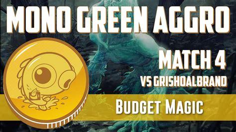 Budget Magic: Mono Green Aggro vs Grishoalbrand  Match 4 ...
