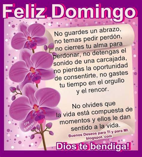 Buenos Deseos para TI y para MÍ: FELIZ DOMINGO ! No ...
