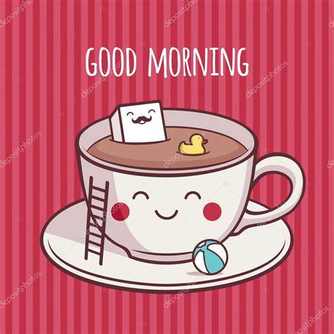 Buenos días café — Vector de stock #100591446 — Depositphotos