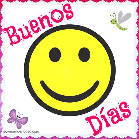 Buenos días | Happy faces | Pinterest | Emojis, Smileys ...