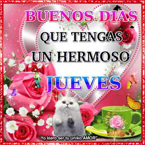 buenos dias jueves gif 8 | GIF Images Download