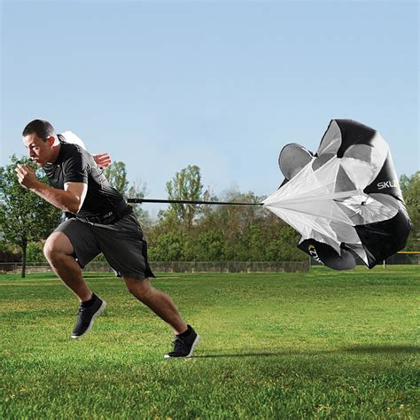 Build Explosive Speed With Parachute Running - Ignore Limits
