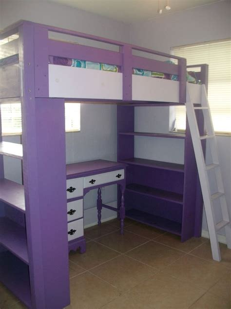 Bunk Bed With Desk And Dresser Underneath - WoodWorking ...