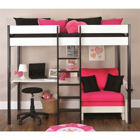 bunk beds with lounge space and desk - Google Search ...