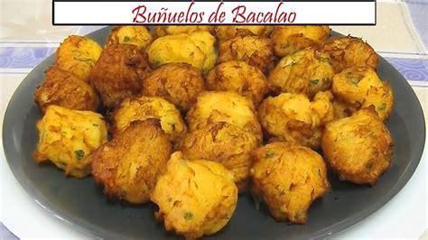 Buñuelos de Bacalao | Receta de Cocina en Familia | Doovi