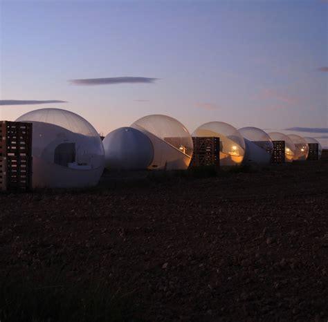 Burbujas efímeras en el Hotel Aire de Bardenas en Tudela ...