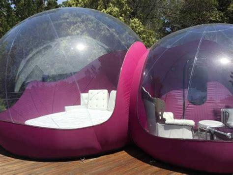 Burbujas inflables: el nuevo concepto de habitación hotel ...