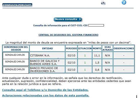 Bureau De Crédito Del Bcra Rechazado - prestamosquorop