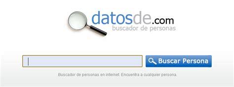 Buscador de personas por nombre | Blog Datosde.com