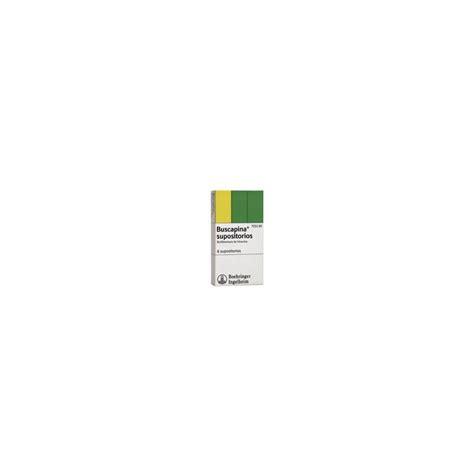 buscapina  10 mg 6 supositorios  , Farmacia Jaime Carbonell