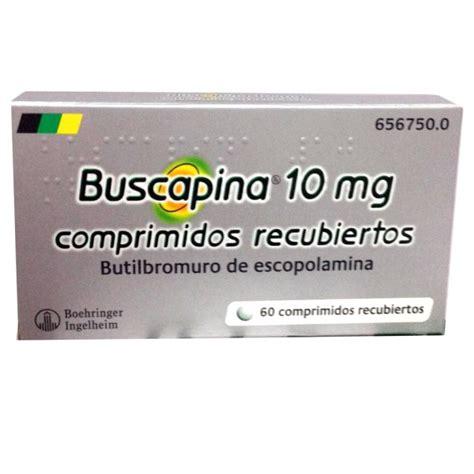 BUSCAPINA 10 MG. 60 COMPRIMIDOS   PharmabuyOTC