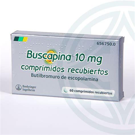 Buscapina 10 mg 60 comprimidos recubiertos | Farmacia Juan ...