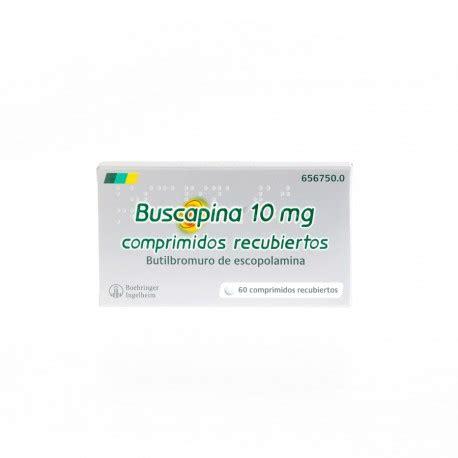 BUSCAPINA 10 MG 60 COMPRIMIDOS RECUBIERTOS   Farmacia Terradez
