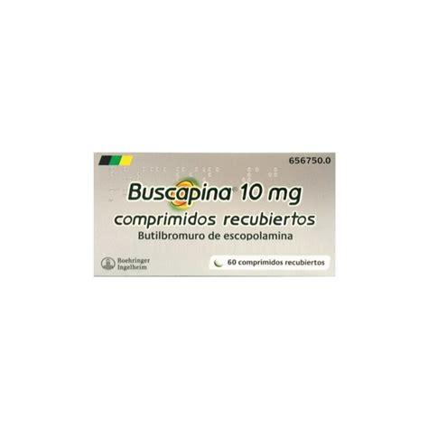 BUSCAPINA 10 MG 60 COMPRIMIDOS RECUBIERTOS ...