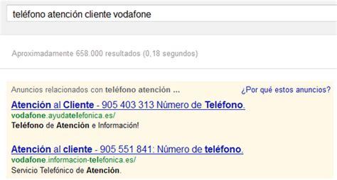 Buscar el número de atención al cliente de una empresa nos ...