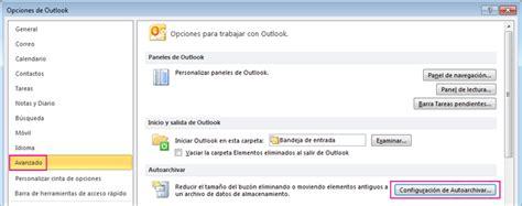 Buscar elementos archivados   Outlook