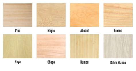 ¿Buscas una madera clara? Las opciones principales son
