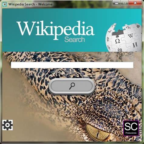Búsqueda en Wikipedia - Descargar