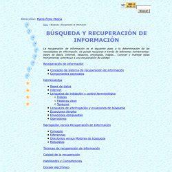 Búsqueda, recuperación y evaluación de la información ...
