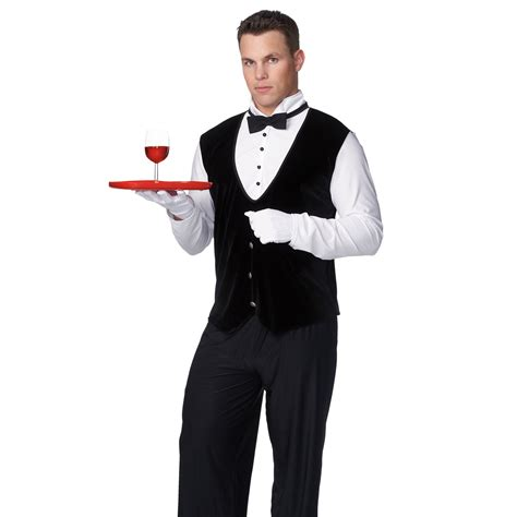 Butler Adult Male Costume | BuyCostumes.com