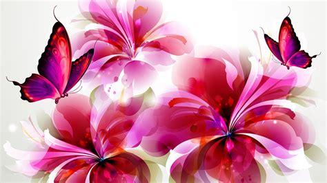 Butterflies and Flowers Clip Art | Flowers and butterflies ...