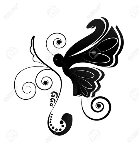 Butterfly Antenna Clipart (18+)