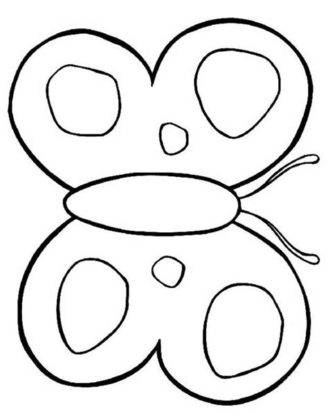 Butterfly Coloring Pages Kids - Coloring Home
