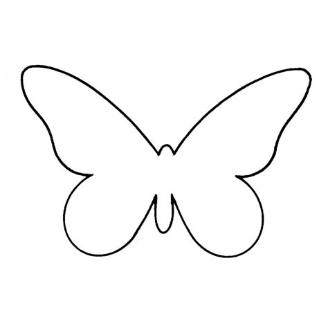 Butterfly Outline Printable - ClipArt Best