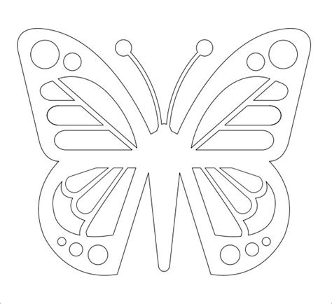 Butterfly Template - 9+ Free PDF Download