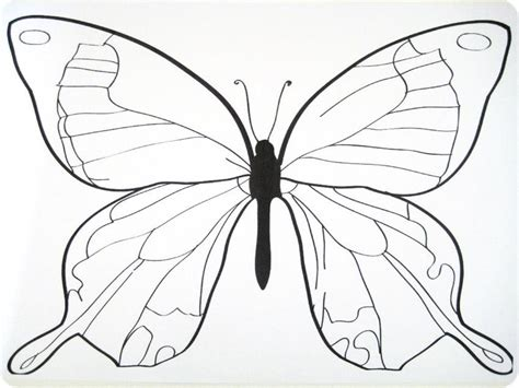 Butterfly Templates To Print - Coloring Home