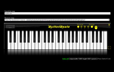 ButtonBeats Virtual Piano Black - Free download and ...