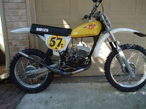 Buy 1977 suzuki Rm125 Rm 125 racer race bike ahrma on 2040 ...