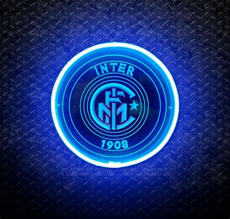 Buy FC Inter Milan 1908 3D Neon Sign Online // Neonstation