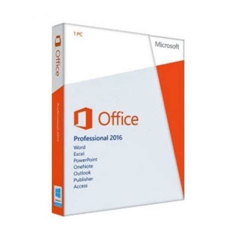 Buy Microsoft Office 2016 Professional for Windows